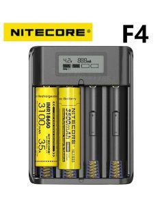 Nitecore F4 Lader en powerbank